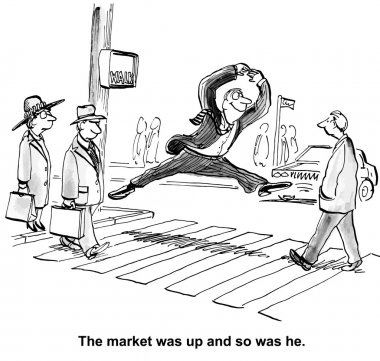 Investor is happy with market