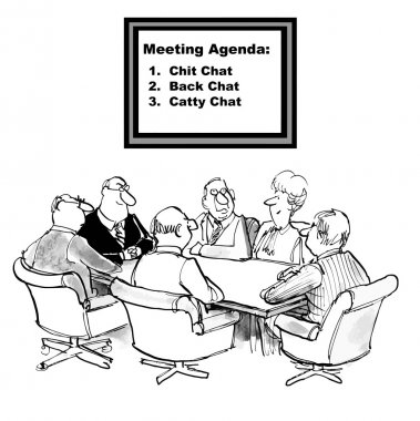 Meeting Agenda is to be chatty.
