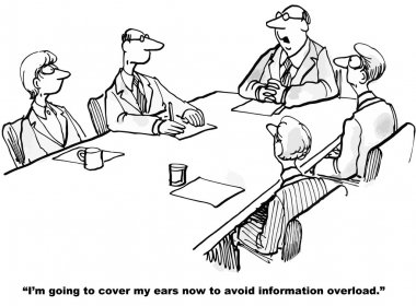 How to avoid information overload.