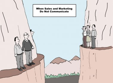 When sales and marketing do not communicate