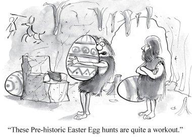 Pre historic egg hunt.
