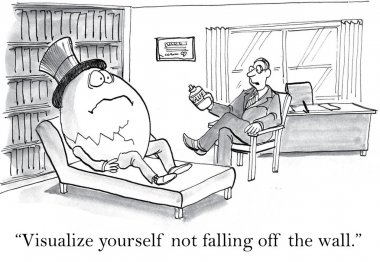 Egg patient at the therapist