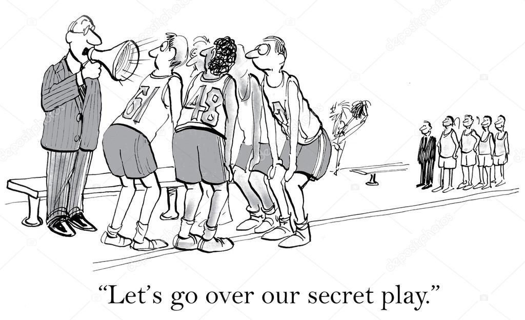 511aa666828 Tajná hra není žádným tajemstvím — Stock Vektor © andrewgenn  70281729