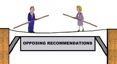 Opposing Recommendations