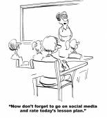 Rate Teachers Lesson Plan on Social Media