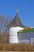 Photo Tower of russian  monastery