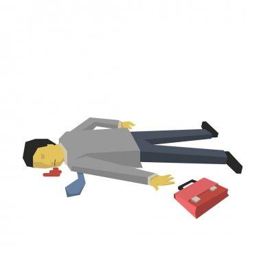 Dead businessman