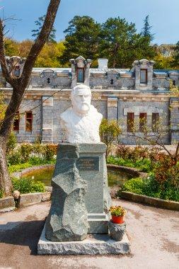Crimea. Bust of the Prince L.S. Golitsyn