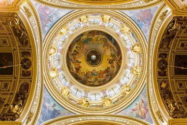 Interior of the Saint Isaac's Cathedral