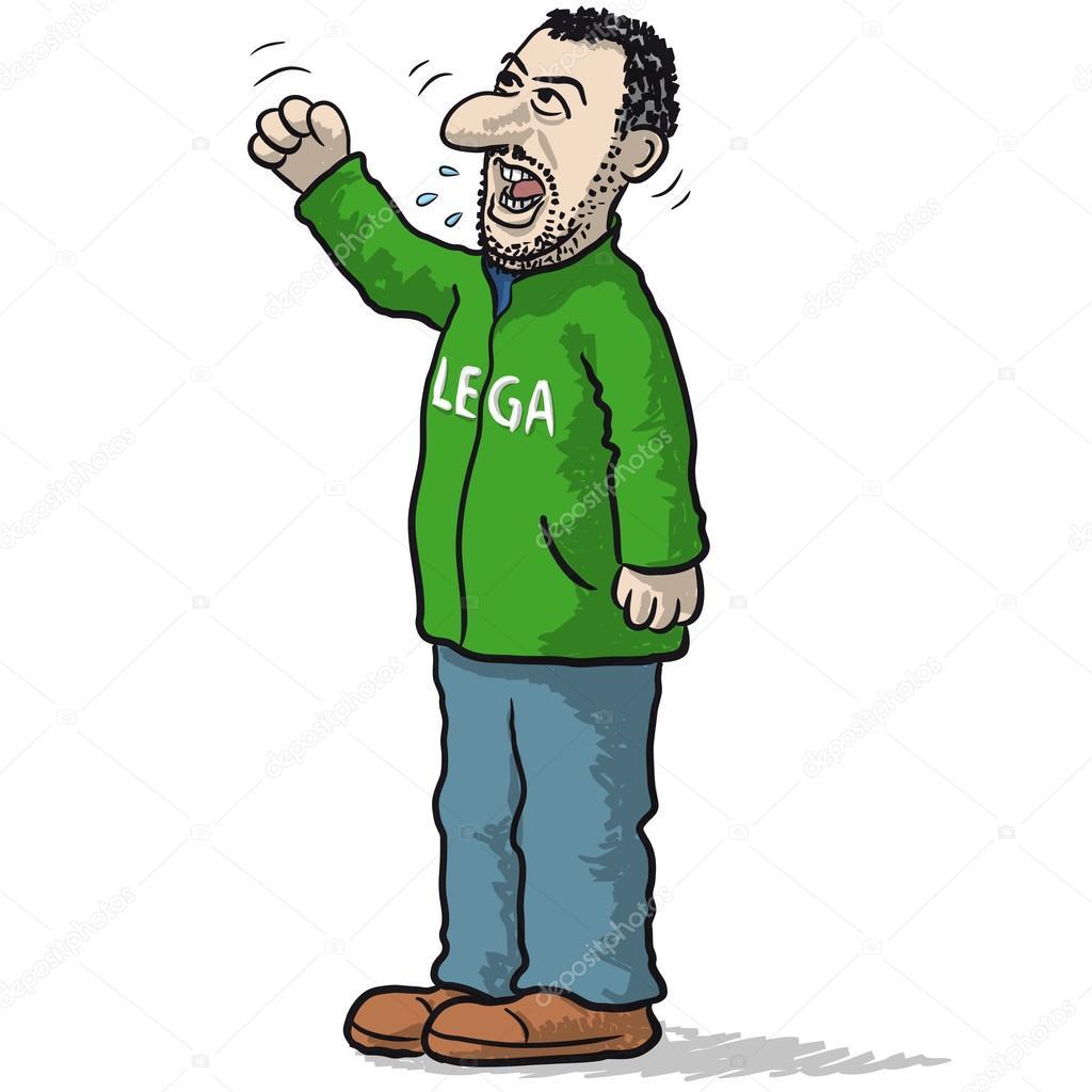 Resultado de imagen para Caricaturas de Matteo Salvini