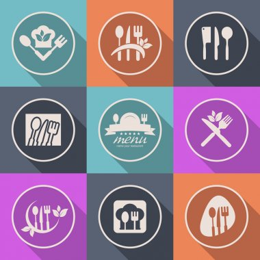 Kitchen icon menu