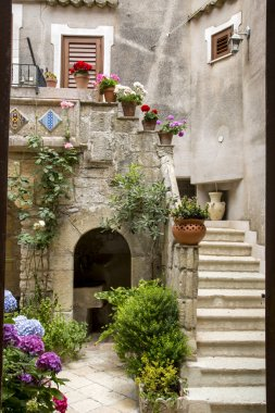 Patio in Italy