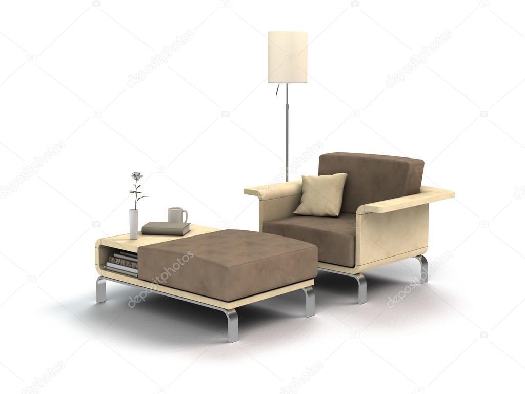 Chill Out Zeit Mit Sessel Und Buch Stockfoto C Numismarty 109835488