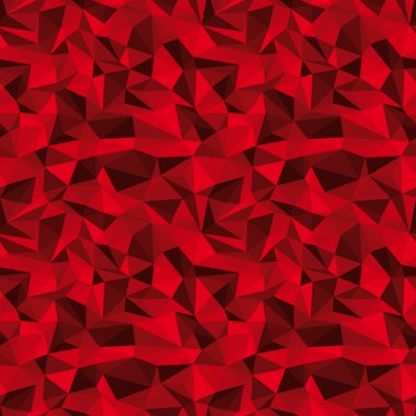 Seamless red vector background