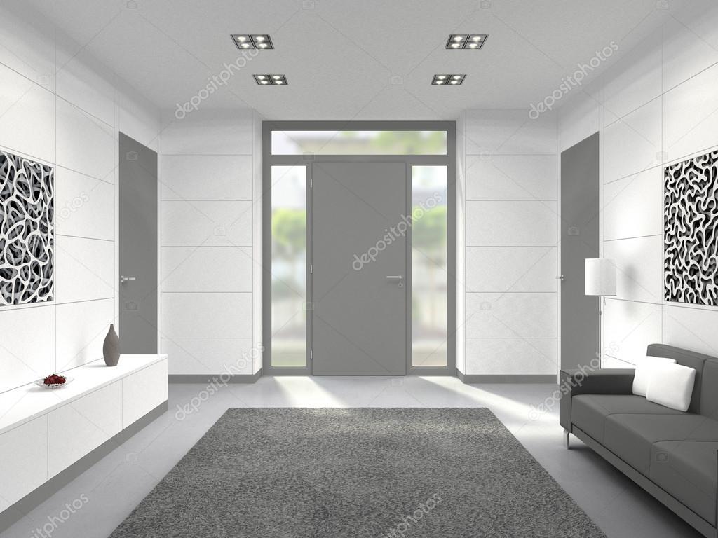 Moderne hal ingang interieur u2014 stockfoto © numismarty #99997744
