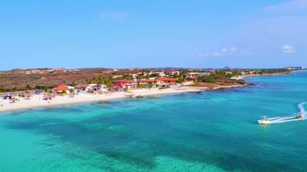 Aerea oceano dal divertimento giro allisola di Aruba nella Caribbic del tubo