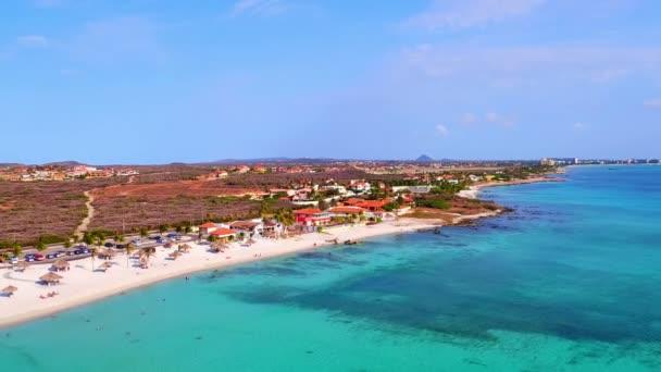 Antenna da Boca Catalina sullisola di Aruba nella Caribbic