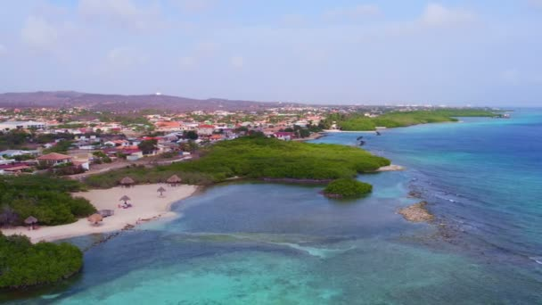 Antenna da Mangel Halto spiaggia sullisola di Aruba nei Caraibi