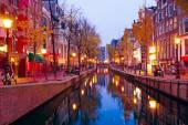malebné město z Amsterdamu v Nizozemsku