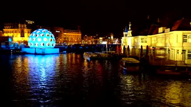 Licht Tour Amsterdam : Amsterdam licht festival u stockvideo nilaya