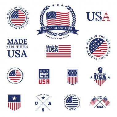 Made in the USA - signs and labels collection.