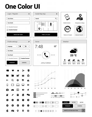 User interface & design elements