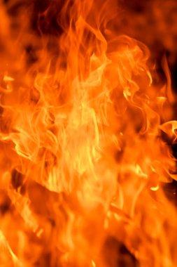 "Картина, постер, плакат, фотообои ""blaze fire flame texture background"", артикул 432758278"