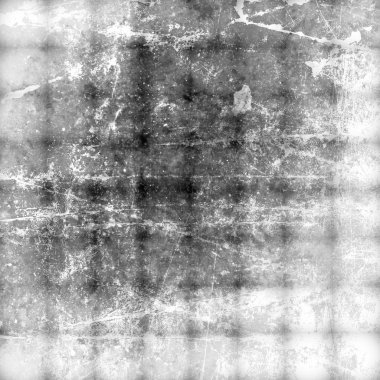 Black and white grunge background textured on concrete wall