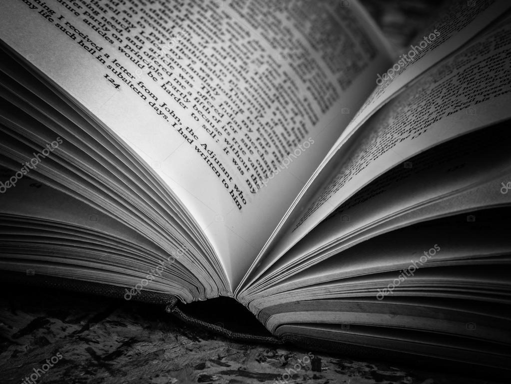 Blanco Y Negro Libro Abierto