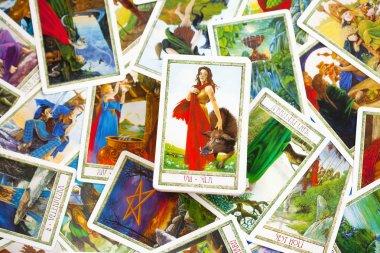 Different Tarot Cards
