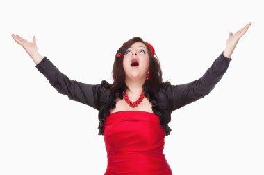 Opera Singer Performing