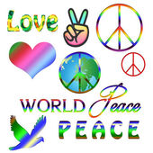 Peace graphics - Symbolic