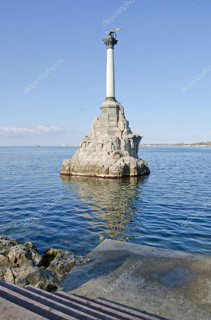Monument to scuttled ships