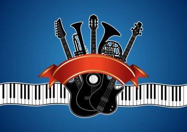 set  musical instruments
