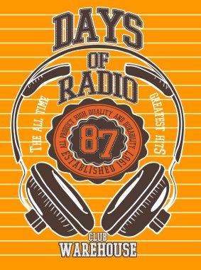 vintage emblem radio