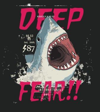 danger shark jaws