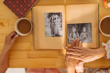 Watching photo album