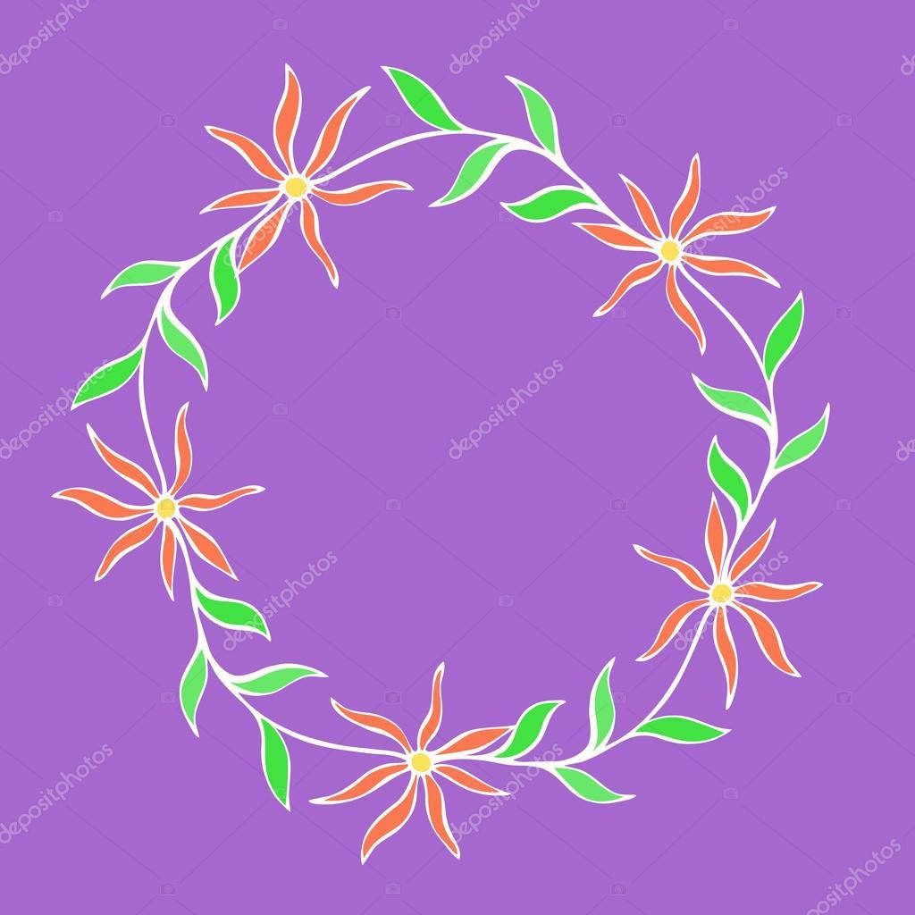 Schöne Blume Bild, Vektor-Bild — Stockvektor © AnniBoreiko #96285060