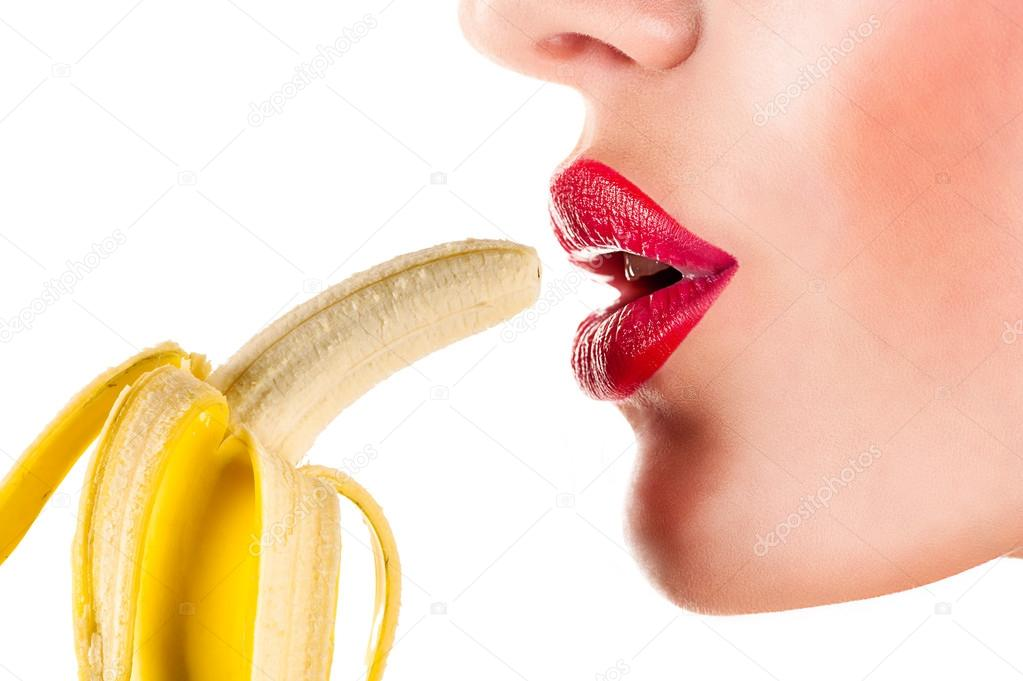 Suck lick a banana images 698