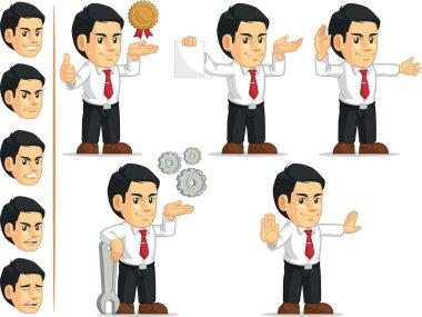 Office Worker Customizable Mascot 12