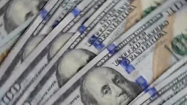 Čelí nás dolary velké peníze pozadí pohybu