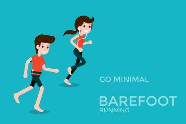 Barefoot running car.