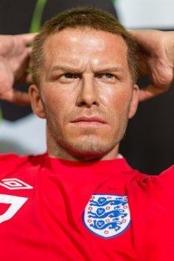 A waxwork of David Beckham