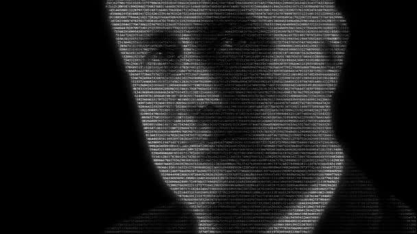 Animace z amerického prezidenta Franklin Delano Roosevelt s číslicemi
