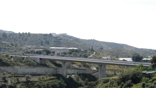 Silnici nebo dálnici provoz andaluských Středozemní krajina