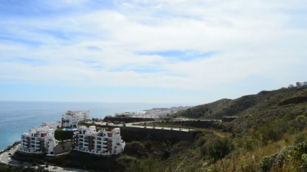 Construction of houses in the beach in southern Spain