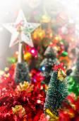 barevné Vánoční dekorace