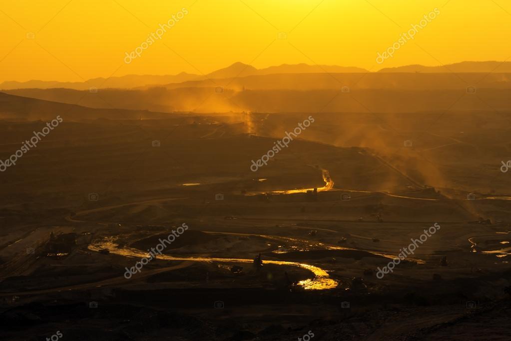 coal mines in Mae Mo Lampang.