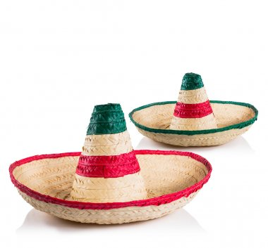 Mexican hats or sombreros