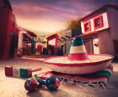 Mexican fiesta background